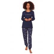 Pijama de damă Dreaming albastru închis XL