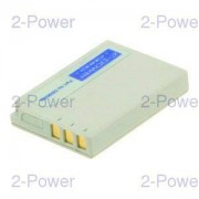 2-Power Digitalkamera Batteri Casio 3.7v 565mAh (NP-30)