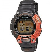 Casio Outdoor Digital Grey Dial Unisex Smart Fitness Watch - Stb-1000-4Adf Ios Compatible