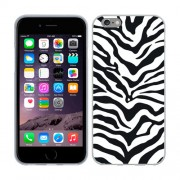 Husa iPhone 6 Plus sau iPhone 6S Plus Silicon Gel Tpu Model Animal Print Zebra