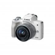 Cámara Canon EOS M50 con 15-45 mm f / 3.5-6.3 IS STM de Lente - Blanco