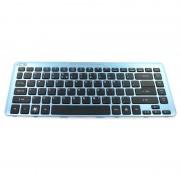 Acer laptop toetsenbord US (zwart) incl. frame (blauw)