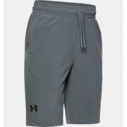 Under Armour Boys' Project Rock Utility Shorts Gray YSM