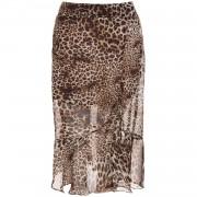 Skirt Midi Leopard - Rokken
