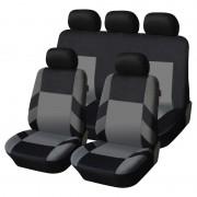 Univerzális üléshuzat garnitúra fekete-szürke (osztható) Exlusive