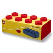 40211730 Sertar de birou LEGO 2x4 rosu