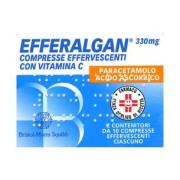 UPSA ITALY SRL Efferalgan*20cpr Eff 330+200mg