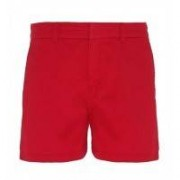 Womens Classic Fit Short Cherry Red