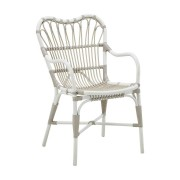 Solhem Margret chair exterior dove white, sika design