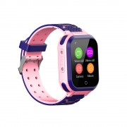 YQT 4G Children Phone Watch Positioning Waterproof Camera SOS Video Call Smart Watch - Pink