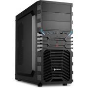 Sharkoon VG4-V Midi-Toren Zwart computerbehuizing