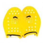 Sport-Thieme Swim-Power Paddles, Maat M, 21x18 cm, geel