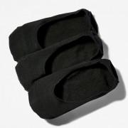 Timberland Trois Paires De Socquettes Pour Homme En Noir Noir, Taille M