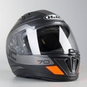 HJC Helm HJC I 70 Karon Mattschwarz-Mattgrau