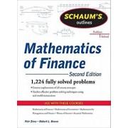 Schaum's Outline of Mathematics of Finance, Second Edition, Paperback/Robert Brown
