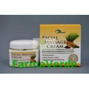 Crema Masaj Facial cu Scortisoara si Curmale 40 gr Ayurmed