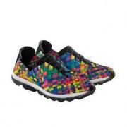 bernie mev. gevlochten sneakers, 38 - multicolour