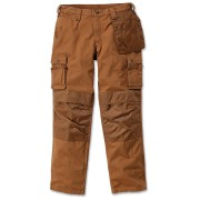 Carhartt Multi Pocket Ripstop Kalhoty 38 Hnědá