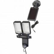 Napelemes DUÓ Prémium LED-lámpa SOL LV0805 P1 IP44 infravörös mozgásérzékelovel 8xLED 0,5W 320lm Kabel-hossz 4,75m Szinek antracit