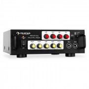 Auna AV1 Amp-EQ amplificateur de karaoké Hifi
