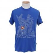 【セール実施中】【送料無料】MENS TREASURE MAP TEE メンズ 半袖Tシャツ WES17M02-5706 BLU