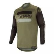 ALPINESTARS Maillot Alpinestars Racer Tactical Noir Vert Camouflage 2019