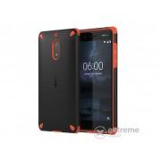Nokia 6 navlaka, crna-narančasta
