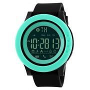 Mastop Smart Watch Pedometer Calories Bluetooth Clocks Waterproof Digital Outdoor Chronograph Sports Watches (Green)