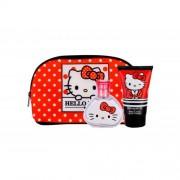 Koto Parfums Hello Kitty подаръчен комплект EDT 50 ml + лосион за тяло 100 ml + козметична чантичка