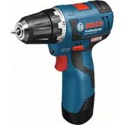 Винтоверт GSR Professional,10,8 V-EC, 2 x 2,0 AH, 20/18 Nm, 0.9 kg, 06019D4001, BOSCH