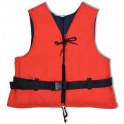 vidaXL 50 N 50-70 kg piros mentőmellény