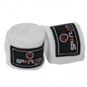 Чифт бинтове за бокс - SPARTAN, S1171-white