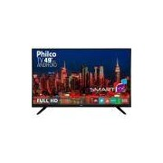 Smart TV LED Philco 49 PH49F30DSGWA Android HDMI USB GINGA Wi-Fi