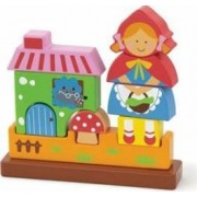 Puzzle New Classic Toys Magnetic 3D Red Riding Hood