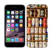 Husa iPhone 6 iPhone 6S Silicon Gel Tpu Model Beer Cans