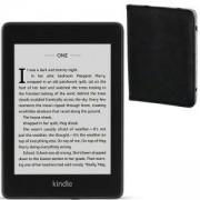Електронен четец Kindle Paperwhite 2018, 8GB, 6 инча, водоустойчив + Калъф HAMA Piscine за eBook четец, черен