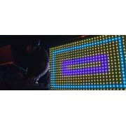 Програмируема цветна USB WiFi RGB ЛЕД рекламна табела - 167 / 39 см.