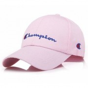 Cool Unisex Cotton Embroidery Caps Hats Sports Tennis Baseball Cap(Pink-cd-chmpn)