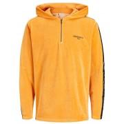 JACK & JONES Velours Sweatshirt Heren Oranje