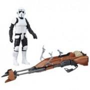 Star Wars Figurine 30 cm avec véhicule Star Wars - Biker Scout