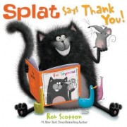 Splat Says Thank You!, Hardcover