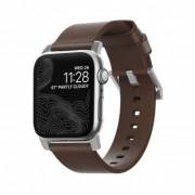 Nomad - Modern Leather Strap (Watch 38/40mm) - Brun/svart