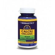 Calciu Organic cu alga calcaroasa, 60 capsule