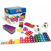 Junior Learning Ten Frame Towers Game, Teaches Counting Numbers, Visualizing Numerals and Building Number Bonds!