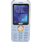 MTR DJ DUAL SIM MOBILE PHONE WITH 2.4 INCH DISPLAY WITH POWERFUL BOOM SPEAKER BLUE COLOR