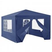 Градинска шатра/беседка [casa.pro]® 400x300x255 cm Тъмносиня