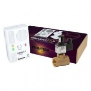 Detector de gaz metan Prevent M cu electrovalva de alama 34