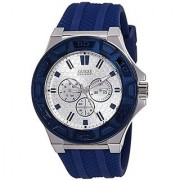 Guess Analog White Dial Mens Watch - W0674G4
