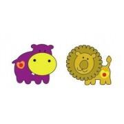 Dekoracja Hipopotam i Lew