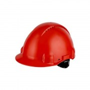 3M PELTOR Hard Hat Helmet G3000 with Uvicator Sensor, Pinlock, Ventilated, Red, G3000CUV-RD